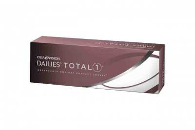 30  DAILY WEAR SOFT CONTACT LENSES DAILIES TOTAL 1