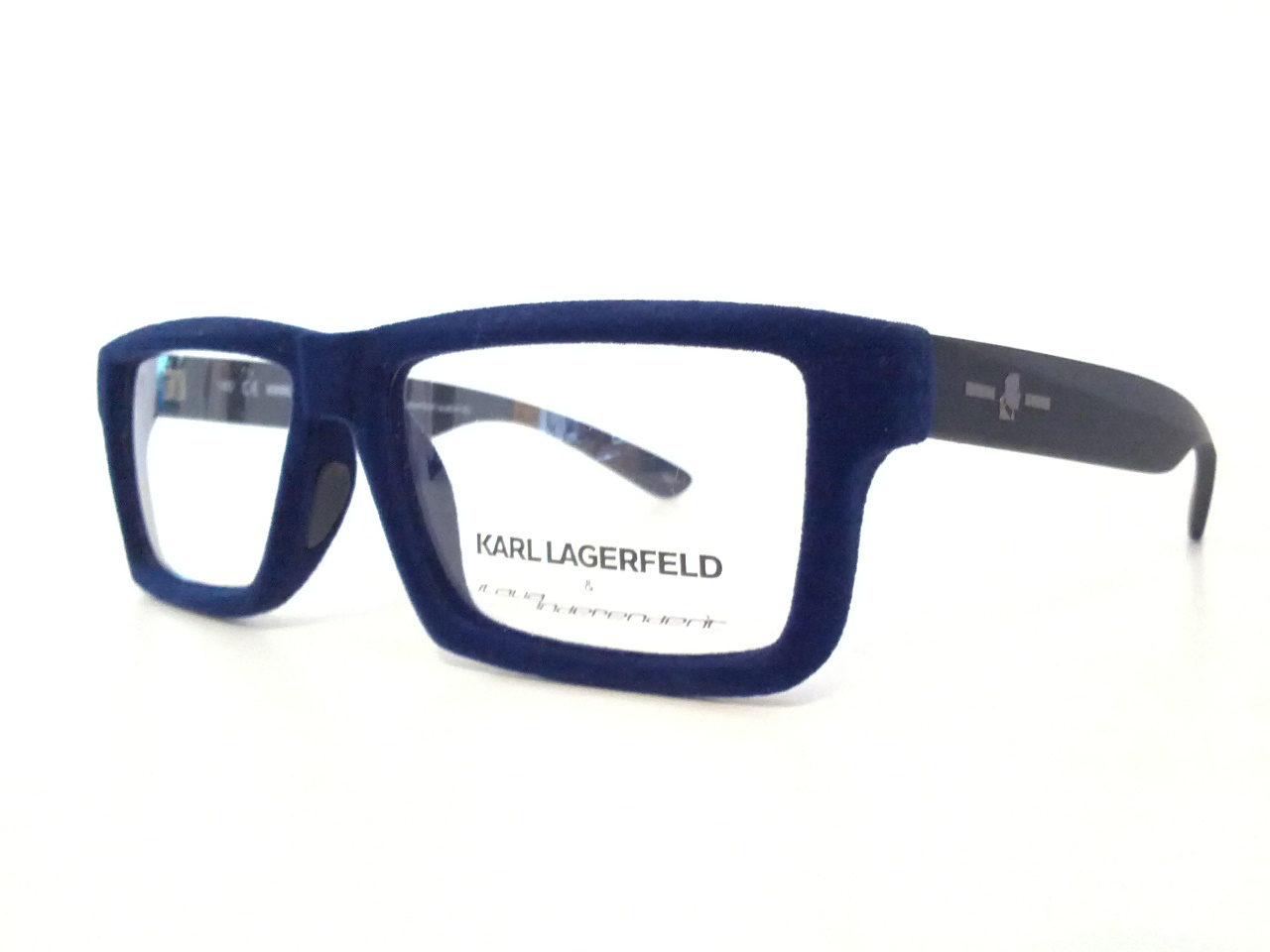 62d28016a5dd0f Online sales of sunglasses and eyeglasses - ITALIA INDEPENDENT   KARL  LAGERFELD OCCHIALE DA VISTA velluto KL 1002