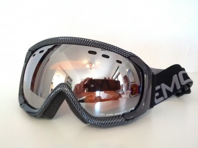 MASCHERA DA SCI DEMON MATRIX CARBON