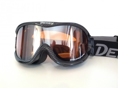 MASCHERA DA SCI DEMON  SNOW OPTICAL 1 CARBON