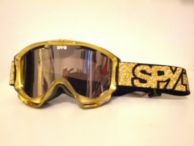 SNOW GOGGLES SPY GOLD GOLD MIRROR