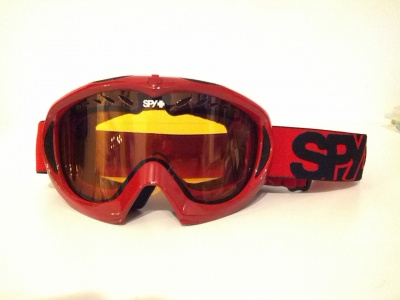 MASCHERA DA SCI SPY RED ORANGE LENS